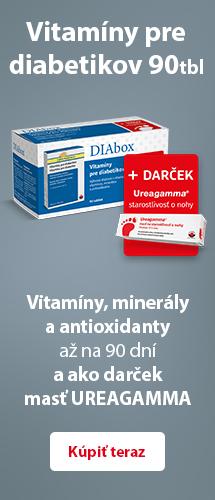 DIAbox - Vitamíny pre diabetikov a Ureagamma®