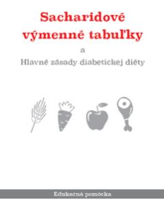 Sacharidové výmenné tabuľky - brožúra