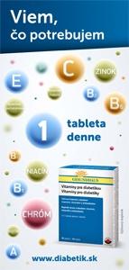 Letáčik – Vitamíny pre diabetikov